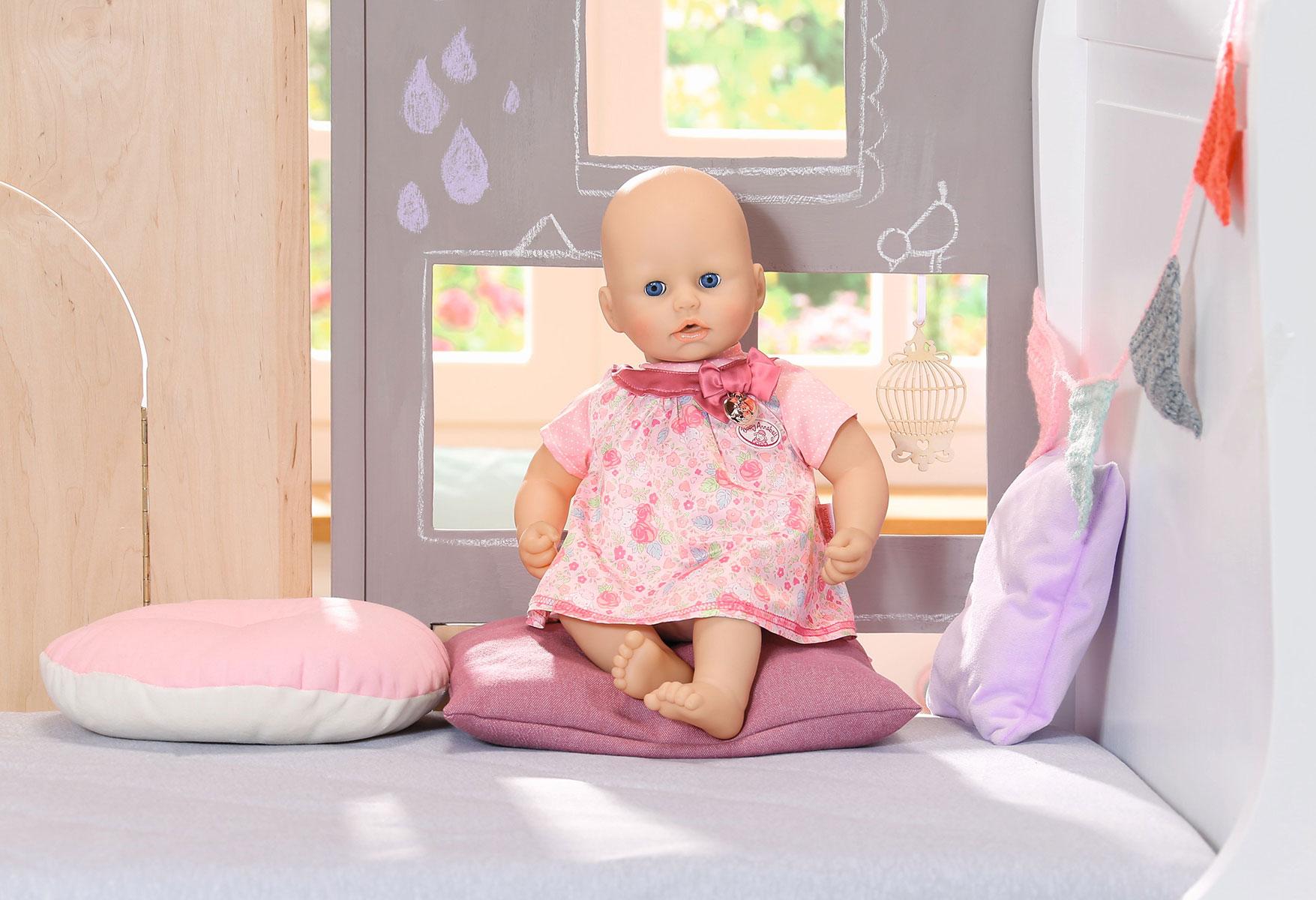 Baby annabell Kleding Baby Annabell jurk roze - DSC Webshop
